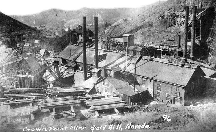 Silver ore mining zone