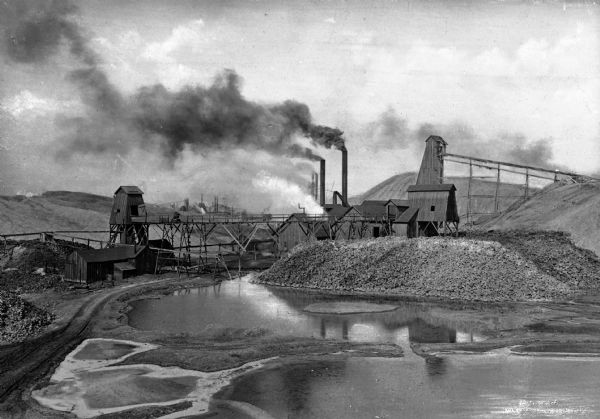 One of The Lead And Zinc Mines, Duenweg Webb City Joplin, MO