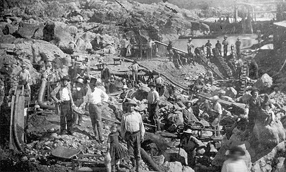 a look at the impact of gold rush on the shaping of american history Economic impact the the human and environmental costs of the gold rush were to the rest of the united states and became part of the new american dream.