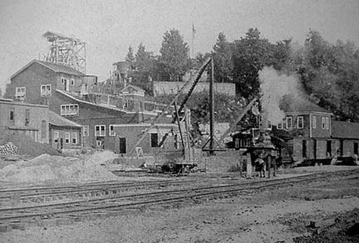 Fluorspar mining in southern illinois